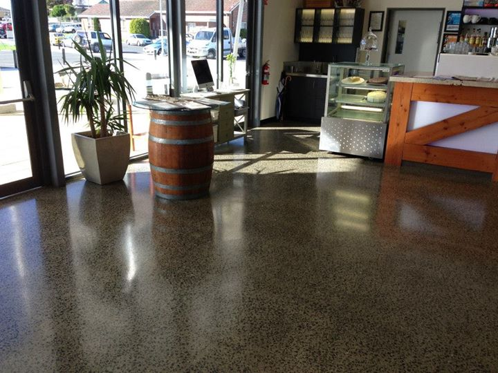 Polished Concrete By Floor Central Tasmania